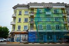 Капитальный ремонт дома. Фото ИА «Иркутск онлайн»