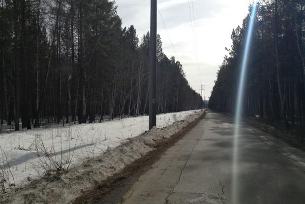 Участок на 28-м километре Байкальского тракта