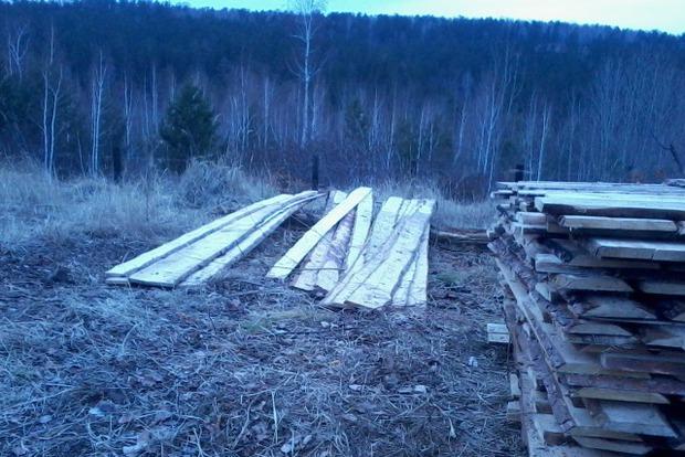 Участок на 11-м километре Качугского тракта