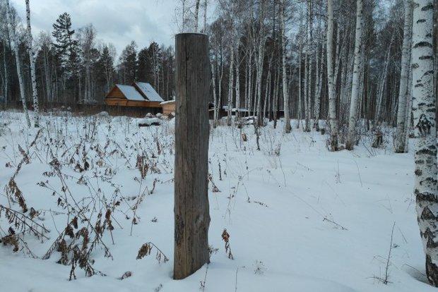 Участок на 23-м километре Байкальского тракта