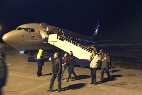 Самолет Москва-Иркутск совершил вынужденную посадку вПерми