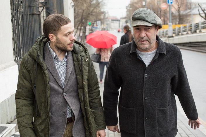 Евгений Гришковец и Юрий Яшников. Фото Константина Козье