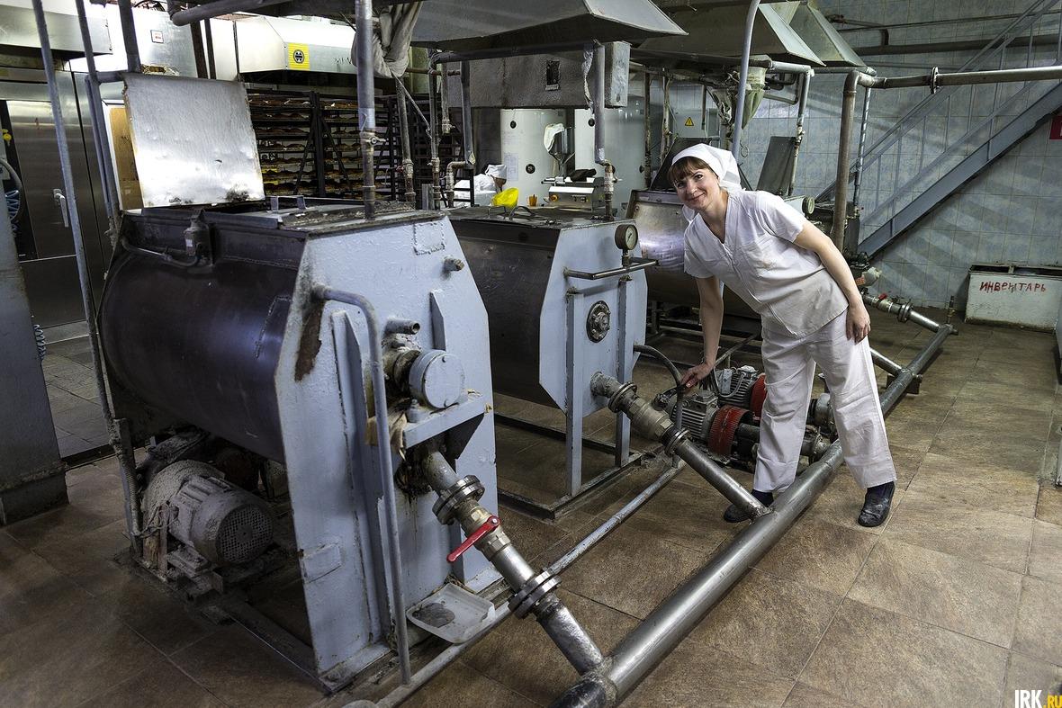 В заварочных машинах готовят питание для дрожжей