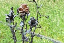 Выставка художественной ковки «Цветы в нашей жизни»