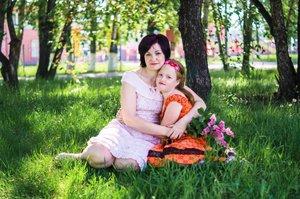 Мой цветочек аленький…..Алина