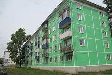 Отремонтированный дом в Усолье-Сибирском. Фото регионального фонда капитального ремонта многоквартирных домов