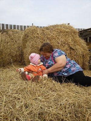 В деревне у любимой бабули!!!