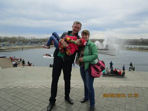 Мама, папа, я - счастливая семья!!!