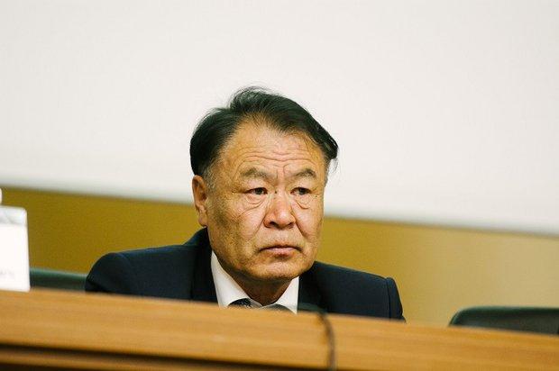 Генеральный секретарь национального комитета по водным ресурсам Монголии Ценд Бадрах