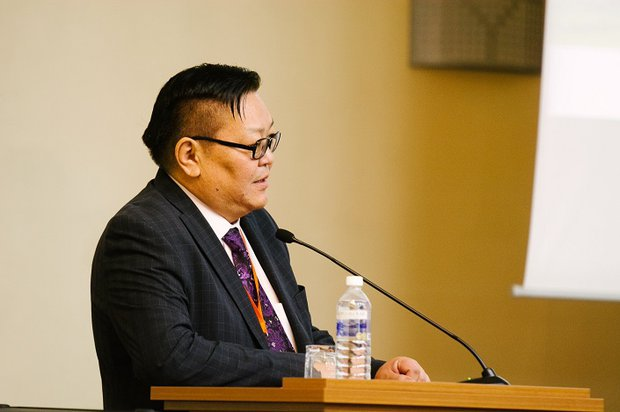 Руководитель проекта Шурэнской ГЭС Гэндэнсурэн Ёндонгомбо