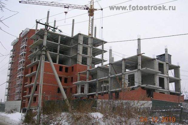 "ЖК ""Амурские ворота"" в 2010 году. Фото с сайта fotostroek.ru."
