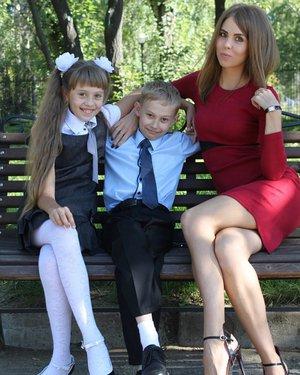 Счастливая мама!! Счастливые дети!!