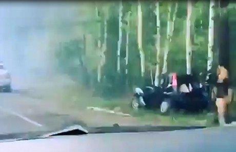 В итоге ДТП натрассе «Байкал» погибло два человека