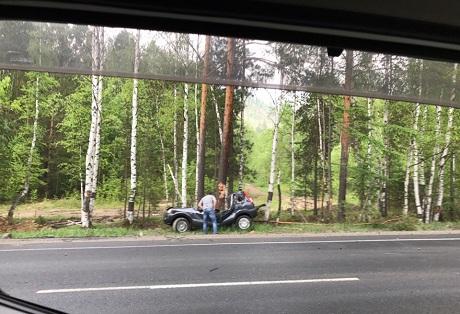 Шофёр ипассажир Форд Fusion погибли вДТП натрассе «Байкал