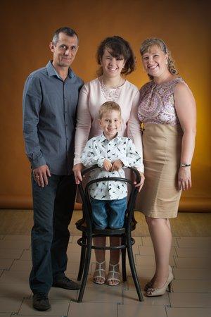 Семья-это счастье:)))