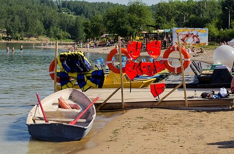 Два официальных берега откроют вПриангарье этим летом