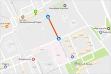 Скриншот с сервиса Google-карты