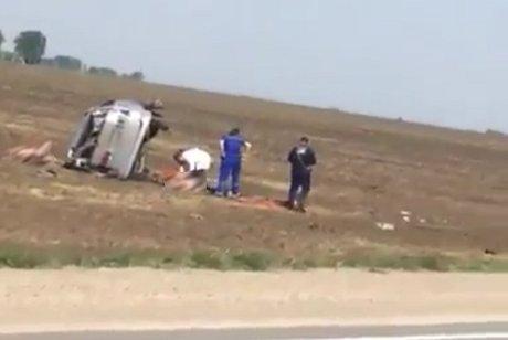 Размещено видео смертоносного ДТП вЧеремховском районе Иркутской области
