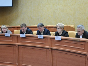 На заседании антитеррористической комиссии. Фото с сайта www. www.admirkutsk.ru