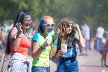 Фестиваль красок в 2016 году. Фото IRK.ru