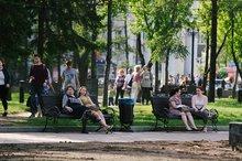 В сквере Кирова. Фото — Никита Пятков