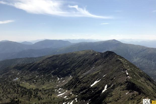 Вид с южного склона