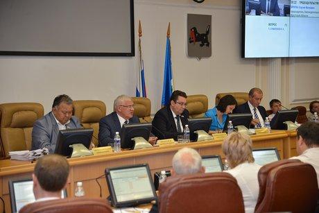 Сессия ЗС. Фото пресс-службы Заксобрания
