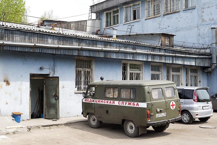 Черемховский роддом. Фото Валерии Алтарёвой