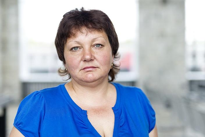 Наталья Андреева. Фото Валерии Алтарёвой