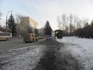 На улице Лермонтова. Фото IRK.ru