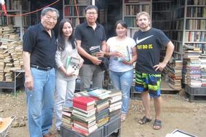 Туристы из Монголии. Фото из группы приюта «ВКонтакте»