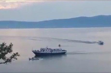 Одного пострадавшего при крушении самолета наБайкале доставили вИркутск