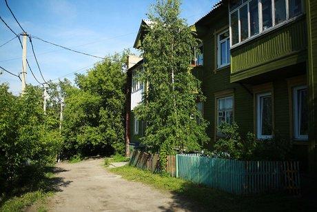 Частный сектор Иркутска. Фото IRK.ru