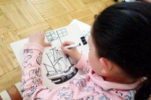 Рисуем воду на мастер-классе в Художественном музее