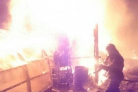 Два человека погибли напожаре впоселке Биликтуй Усольского района