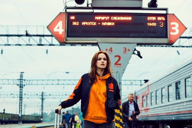 Эмилия на вокзале в Иркутске. Фото www.facebook.com/Lufthansa/