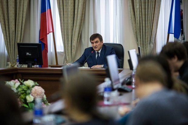 Александр Битаров. Фото пресс-службы правительства Иркутской области