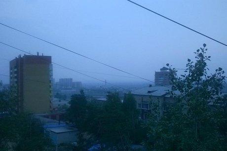 Читу заволокло дымом лесных пожаров изИркутской области
