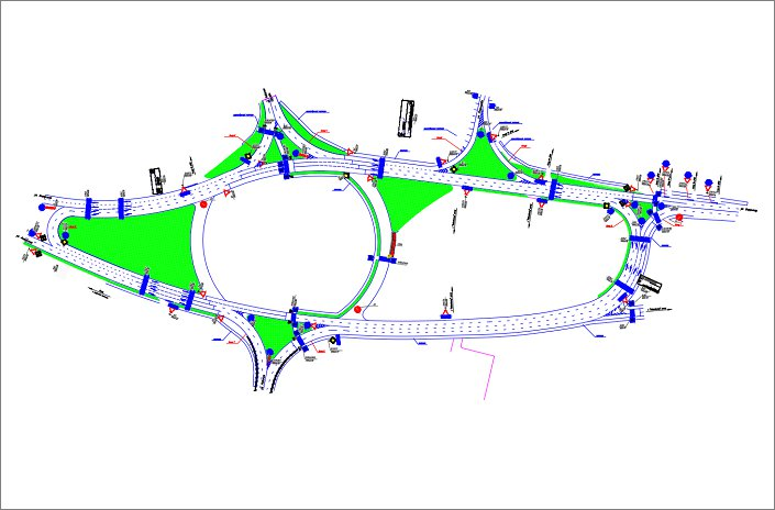 Схема движения по маратовскому кольцу