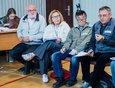 Виктор Кузеванов. советник мэра Иркутска, бывший директор Ботсада ИГУ (слева), Сергей Язев, директор Иркутской астрономической обсерватории (справа).