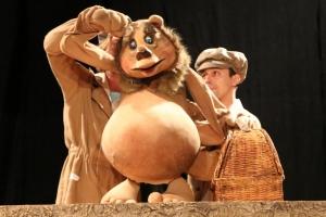 Московский театр кукол в Иркутске. Маша и медведь