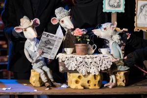 Московский театр кукол в Иркутске. Все мыши любят сыр