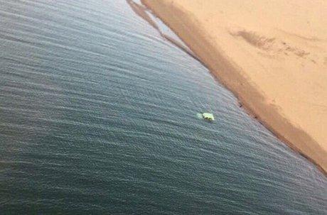 «Ниву» стелом водителя всалоне обнаружили вБратском водохранилище