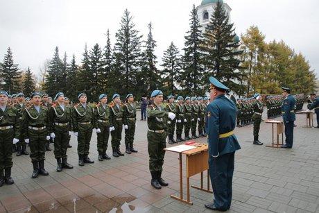 Учащиеся кадетских корпусов Иркутской области приняли присягу