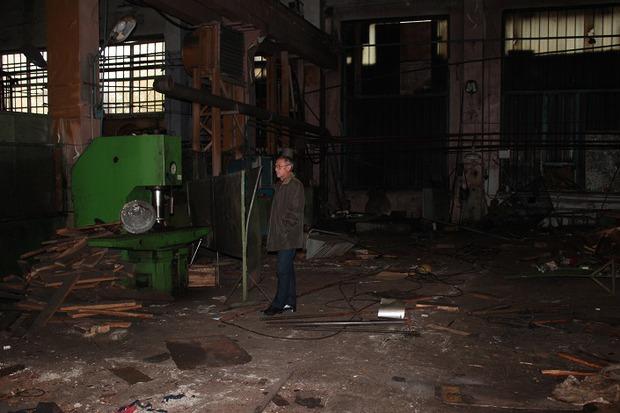 Заброшенный ремонтно-механический цех