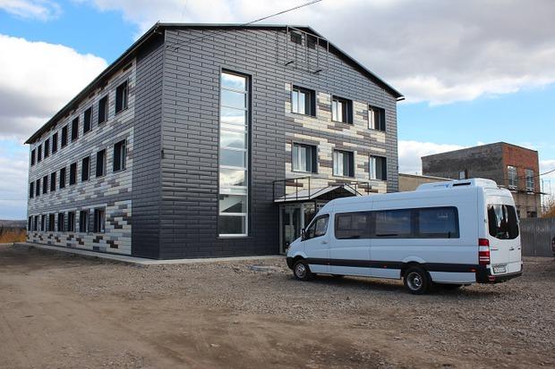 Административное здание после ремонта