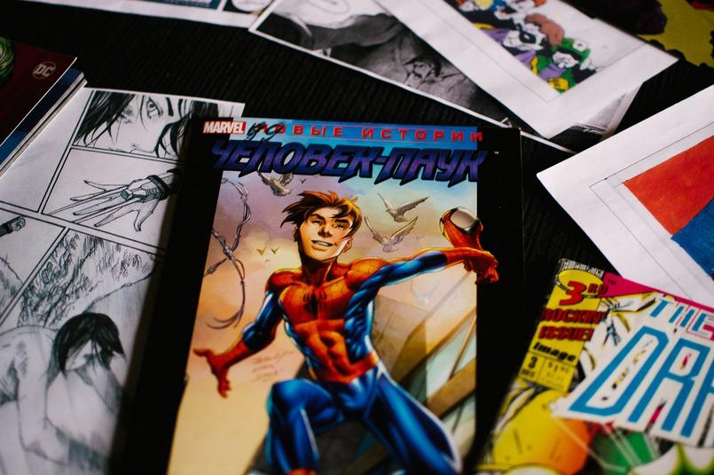 Человек-паук — один из любимых комиксов Михаила