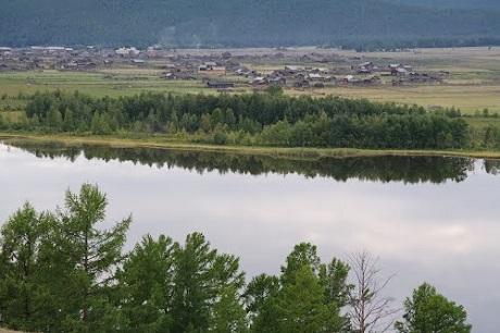 Село Онгурен. Фото с сайта irkipedia.ru