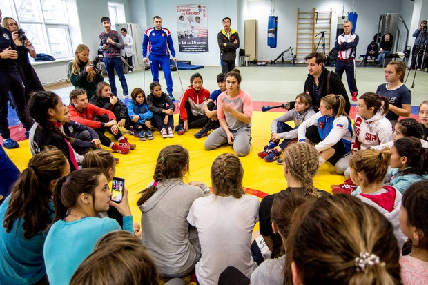 Открытая тренировка с Натальей Воробьевой
