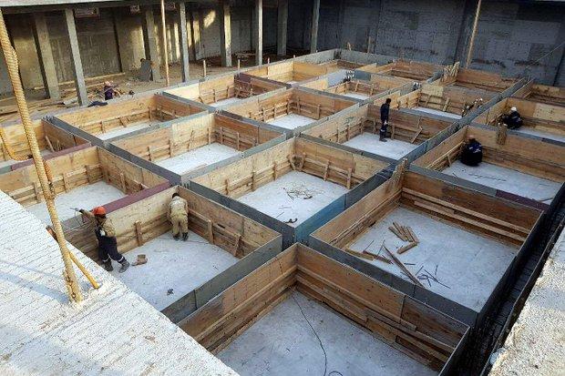 Строительная площадка ФОКа. Фото предоставил Александр Якубовский